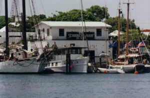 Schooner Warf Bar from the Key West Harbor