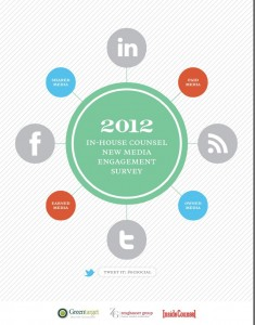 Update: In-House Counsel Lawyers Social Media Use Grows