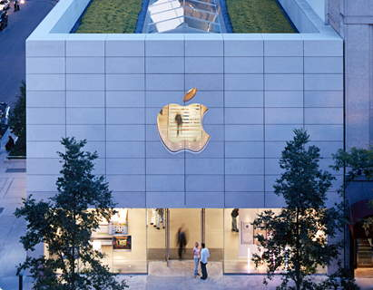 The Apple Store Chicago